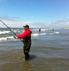 Surf Fishing and Clamming